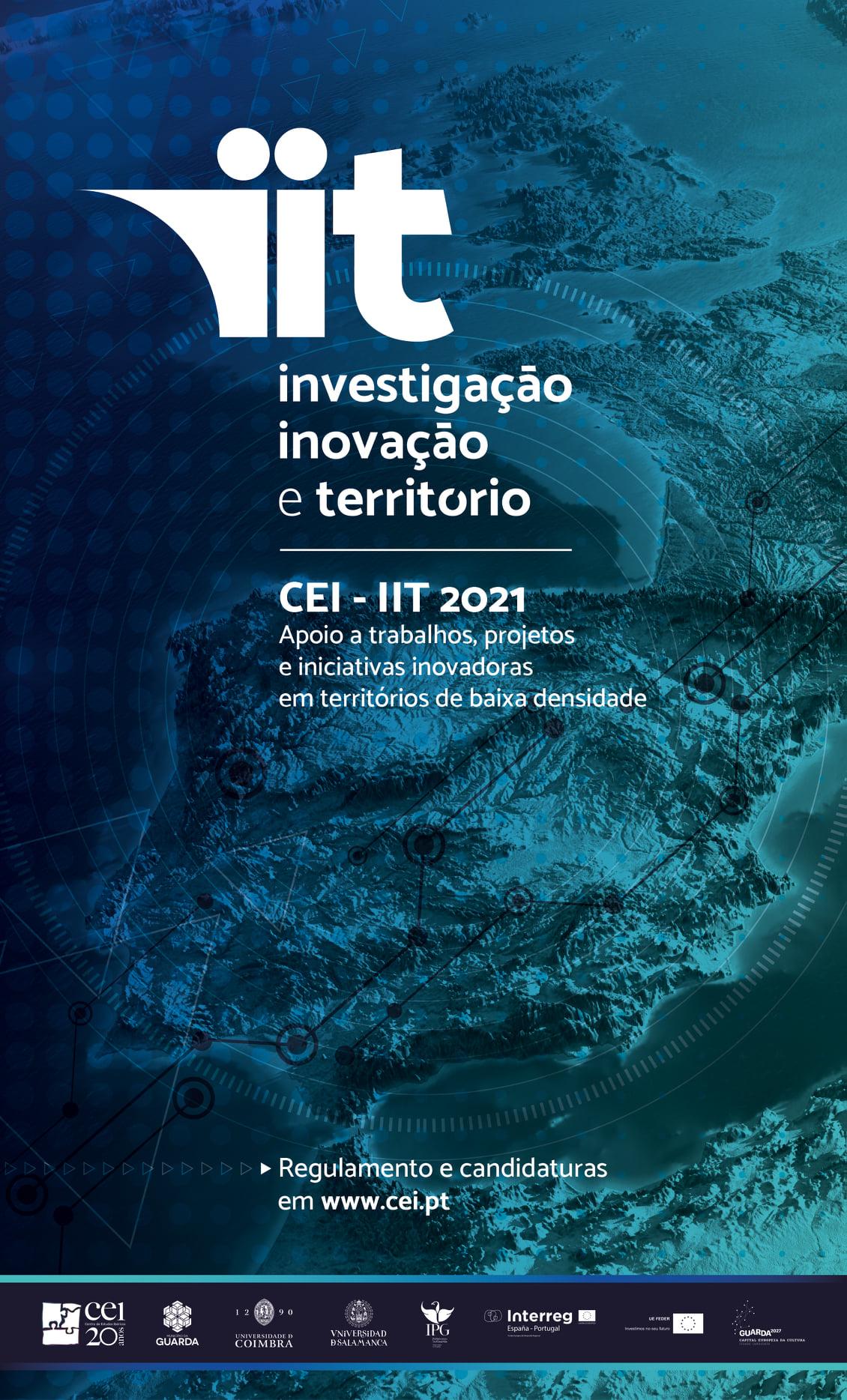 Imagem: Prémio CEI - IIT 2021, candidaturas até 8 de outubro