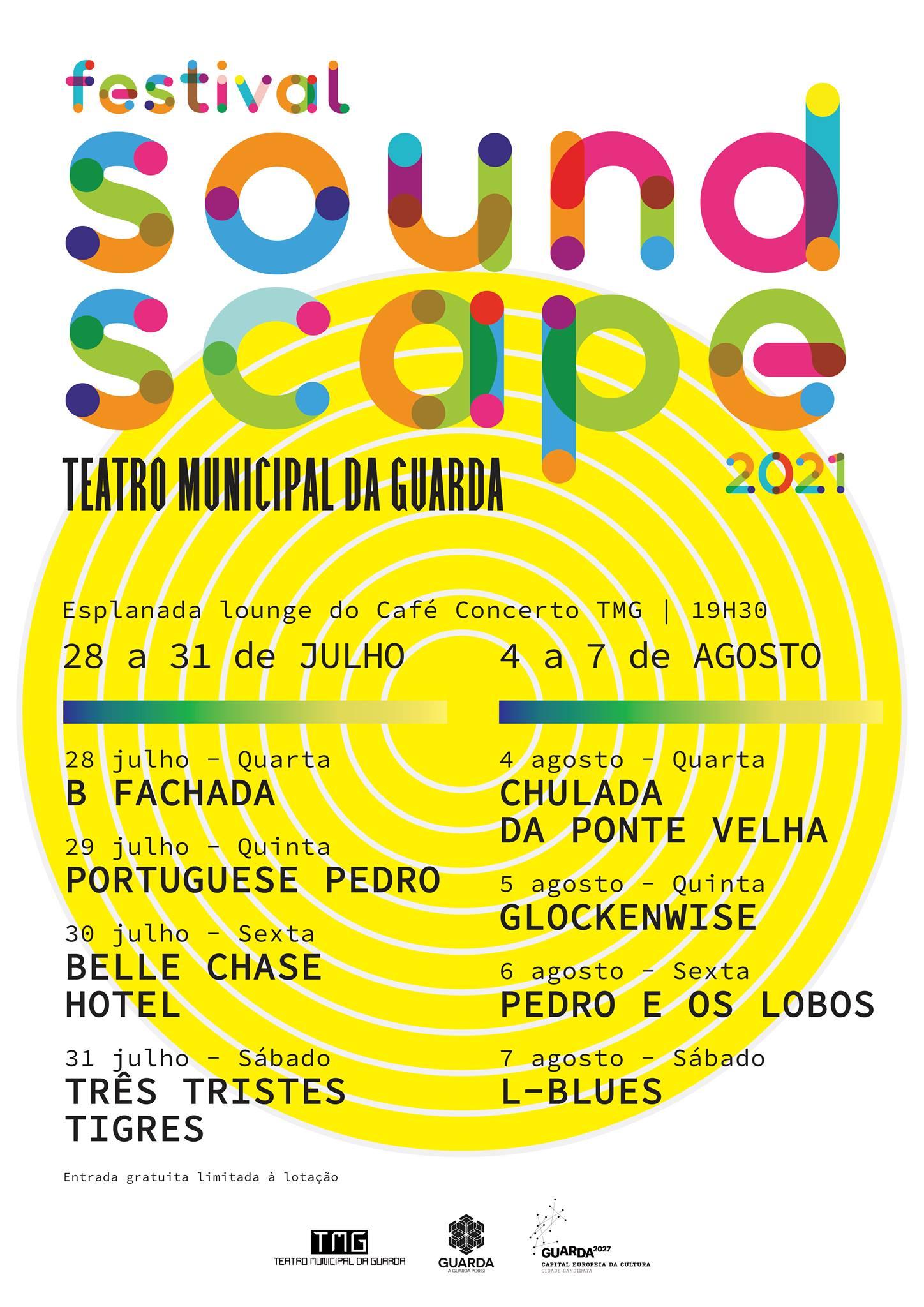 Imagem: Em julho e agosto há música ao ar livre no Teatro Municipal da Guarda